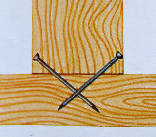 inchiodatura ad x