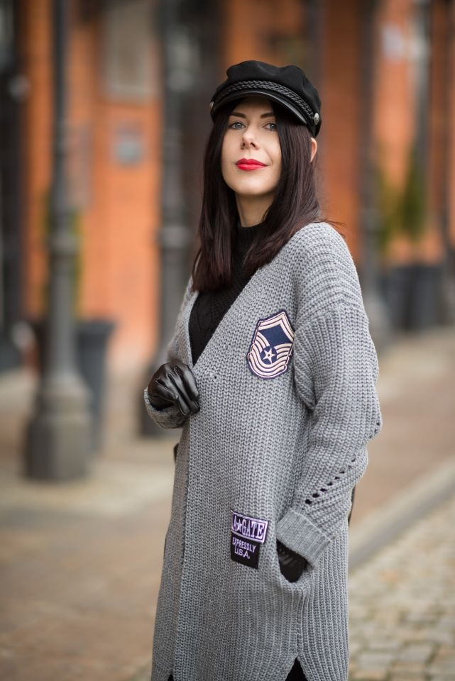 grey-cardigan-shein-fashion-blogger