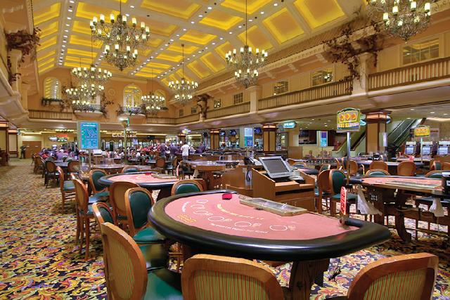 Aulas de jogos fora da Strip em Las Vegas