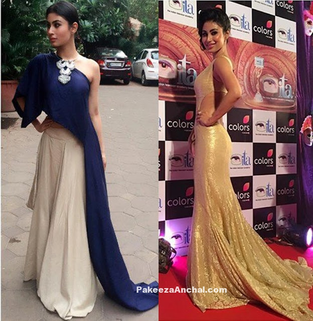 TV Actress Mouni Roy as Naagin in Stylish Girly Oufits