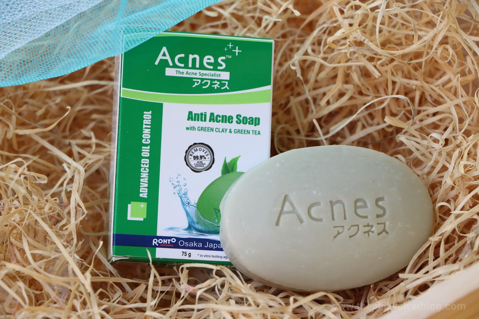 Rohto ACNES Advanced Oil-Control Anti-Acne Soap