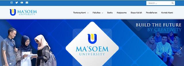 Ma'soem University di Bandung - Blog Mas Hendra