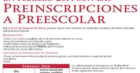 Resultados Asignacion Preescolar y Primaria, publicación 7 de Junio ...