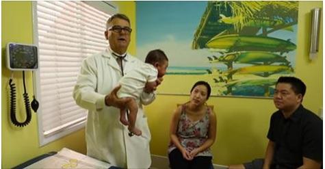 Este es el método para que un bebé deje de llorar y se calme en pocos segundos