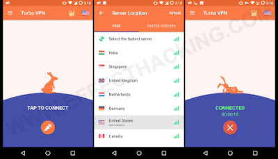 Screenshot Turbo VPN – Unlimited Free VPN For Android