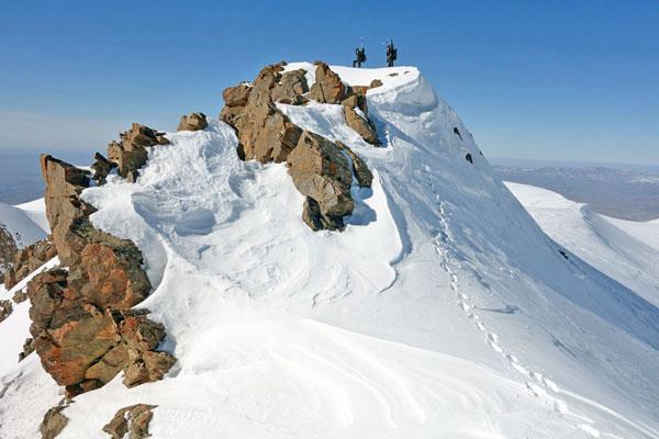 4 вершины Каржантау   2014 март
