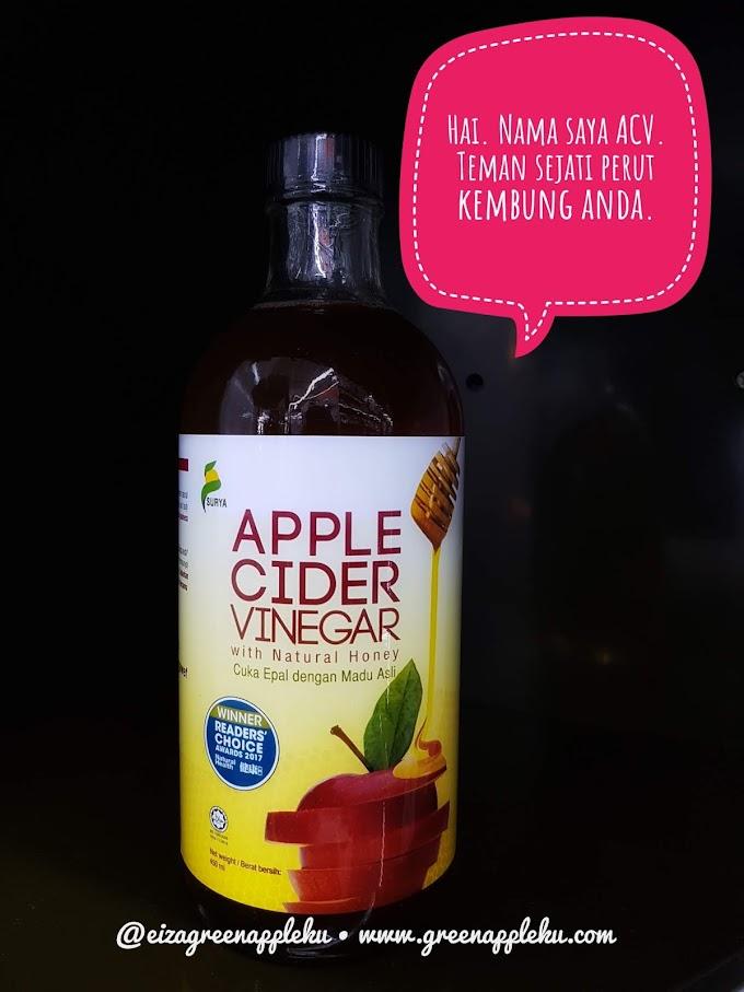 Apple Cider Vinegar dari Surya, Teman Sejati Perut Kembung Anda.