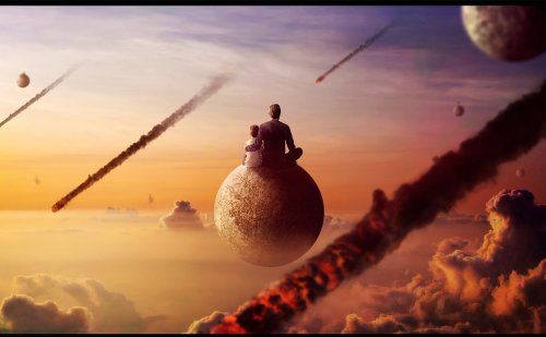 Surreal Apocalypse Photo Manipulation