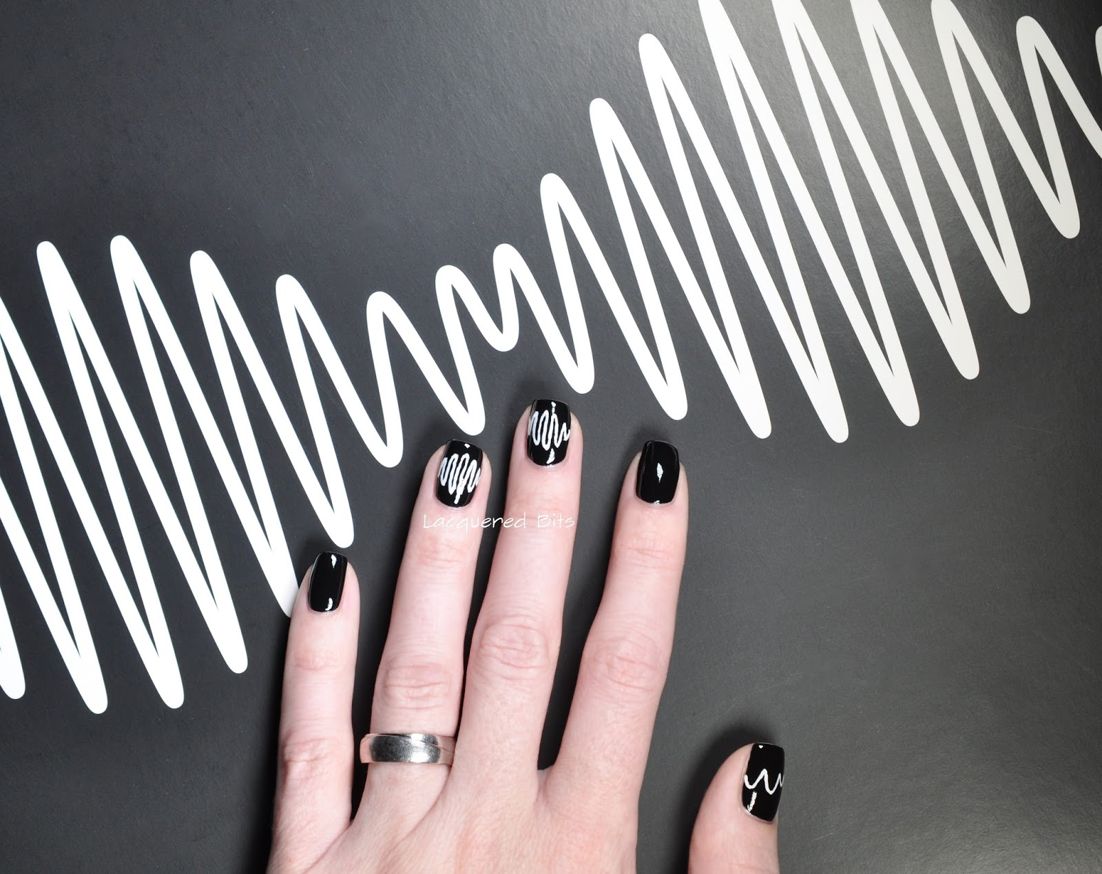Arctic Monkeys - AM Manicure - Lacquered Bits