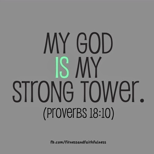 My God is my Strong Tower Proverbs 18:10 ~ God is Heart