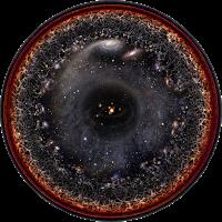 Ilustración del Universo observable