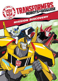 Transformers Robots in Disguise: Mission Discovery cover