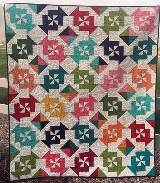 Candy Swirls Quilt Free Pattern