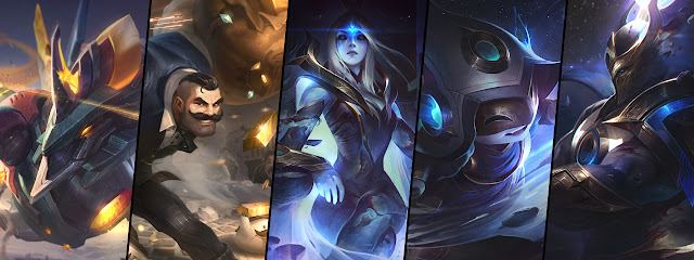 ... check the [8.16 PBE content] for a tentative look at what is coming in  the patch, including Mecha Aurelion Sol, Mafia Braum, as well as new Cosmic  skins ...