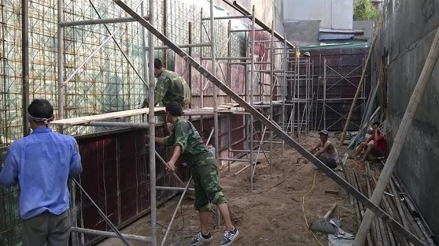 Thép 3d làm tường chịu lực
