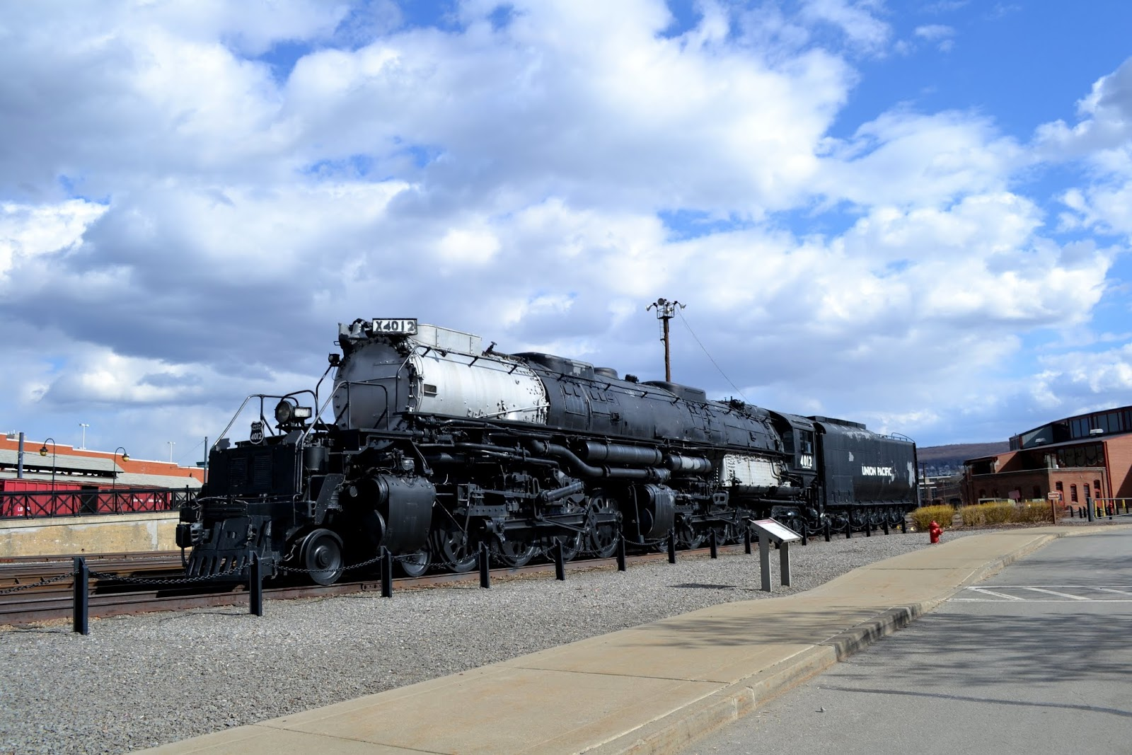 Стимтаун - музей паровозов, Скрэнтон, Пенсильвания(Steamtown National Historic Site, Scranton, PA)