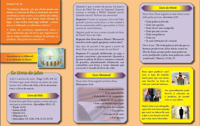 Os livros do Juízo Verso