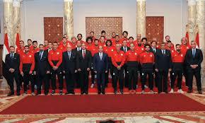سفر بعثة منتخب مصر إلى روسيا للمشاركة في كأس العالم