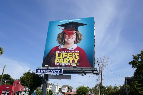 Life of the Party billboard