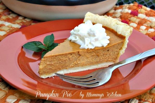 Classic Pumpkin Pie (Lightened Up)