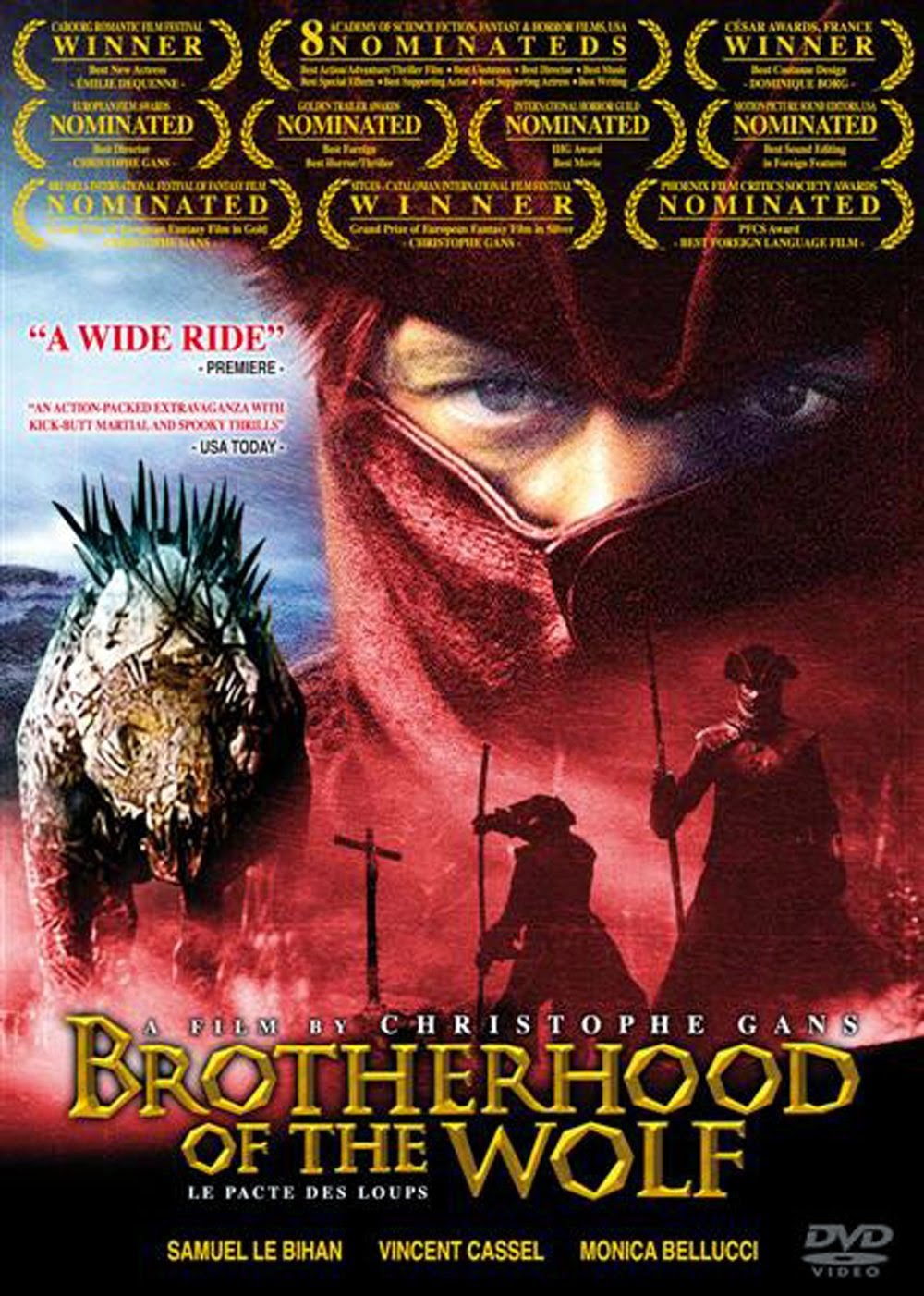Brotherhood of the Wolf 2001 DVDRip ταινιες online seires oipeirates greek subs