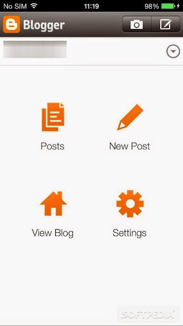 تحميل برنامج بلوجر للايفون مجانا برابط مباشر Blogger for iPhone