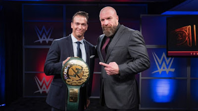 WWE 24/7 TITLE Triple H R Truth Mike  Giacco