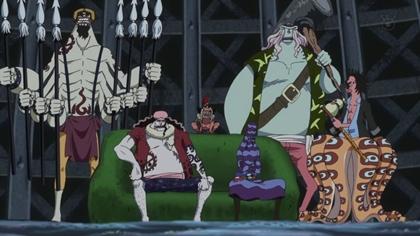 กลุ่มโจรสลัดมนุษย์เงือกรุ่นใหม่ (New Fishman Pirates)
