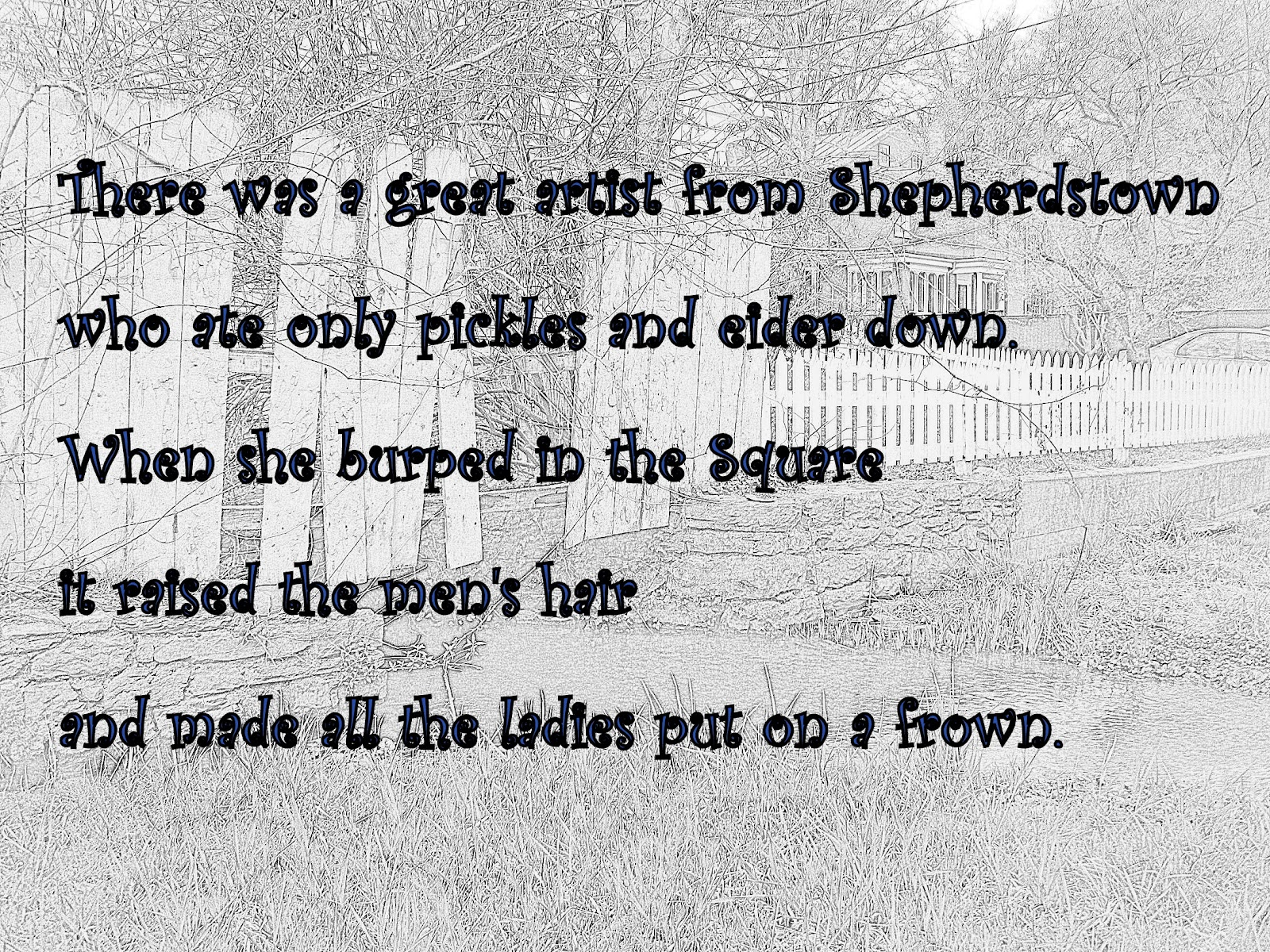 WORDKEEPERS: Day 26 ~ Write a limerick about yourself in your