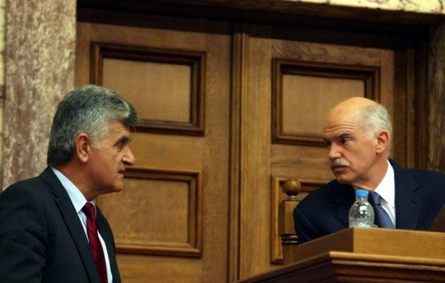 Πετσάλνικος: Μονόδρομος για τον Παπανδρέου το νέο κόμμα