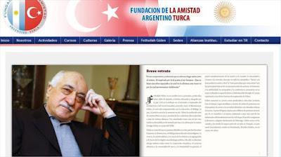 Álbum biográfico del líder opositor turco, Fethulá Gülen, en la página Web de la Fundación de la Amistad Argentino Turca.