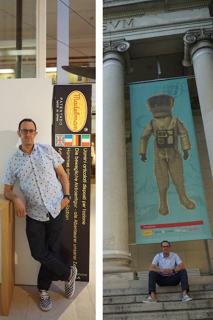 exposición 50 aniversario Madelman en el Museo Nacional de Antropología