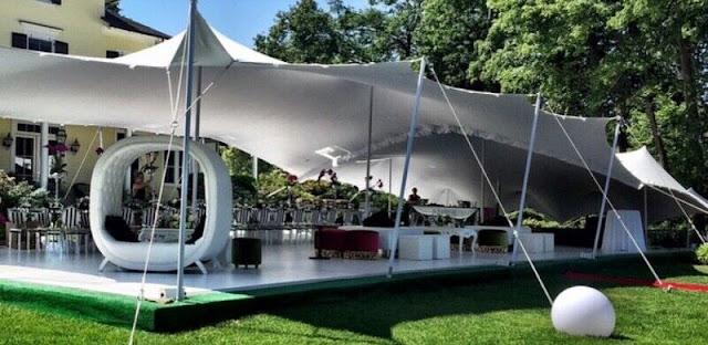 hiring a tent