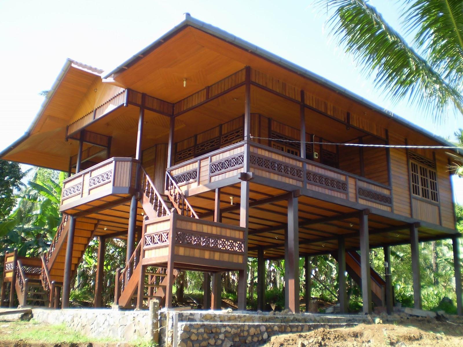 Rumah Panggung Rumah Adat Sulut Rumah Panggung Khas