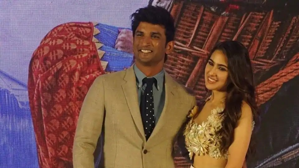 sara ali khan and sushant singh rajpoot in kedarnath