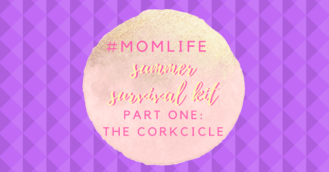 Summer Survival Kit Stemless Corkcicle