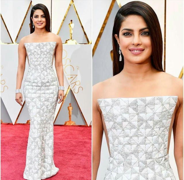 Priyanka Chopra In Ralph And Russo At Oscars 2017