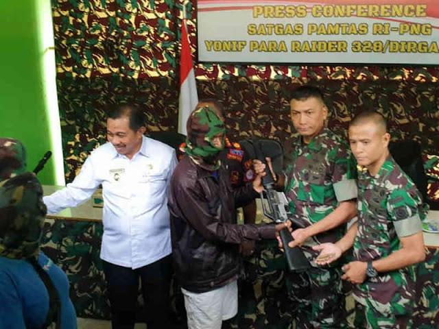 2 Anggota TPN-WP OPM Pimpinan Mathias Wenda Kembali ke NKRI