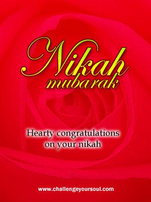 My-Sweet-Islam: Nikah Mubarak (Happy Marriage Greetings)