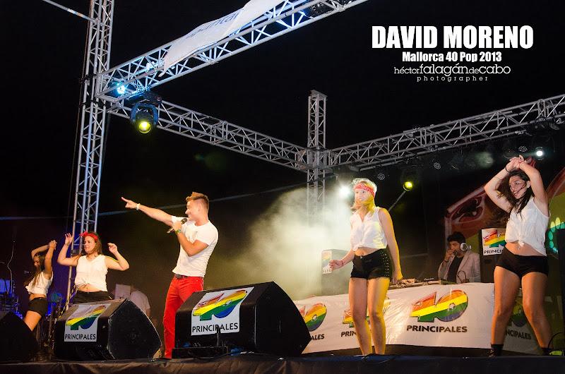 David Moreno en el Mallorca 40 Pop 2013. Héctor Falagán De Cabo | hfilms & photography.