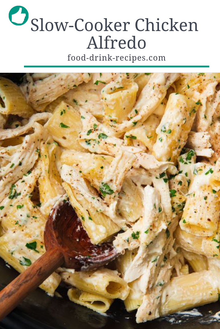 Slow-Cooker Chicken Alfredo - food-drink-recipes.com
