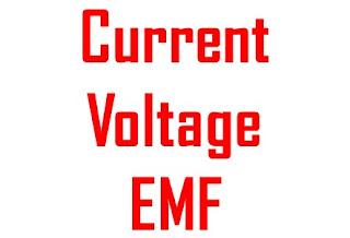 विधुत वाहक बल - Electrical Circuit में लगने वाला वह Pressure जो Electrons को सर्किट में बहने के लिए मजबूर करता है विधुत वाहक बाल या EMF कहलाता है ।