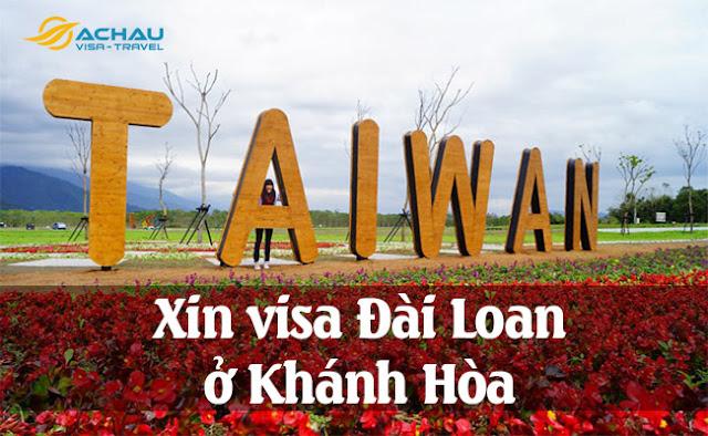Xin visa Đài Loan ở Khánh Hòa