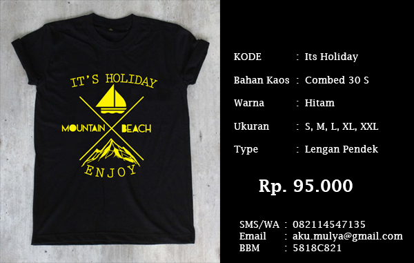 Kaos Backpacker Indonesia