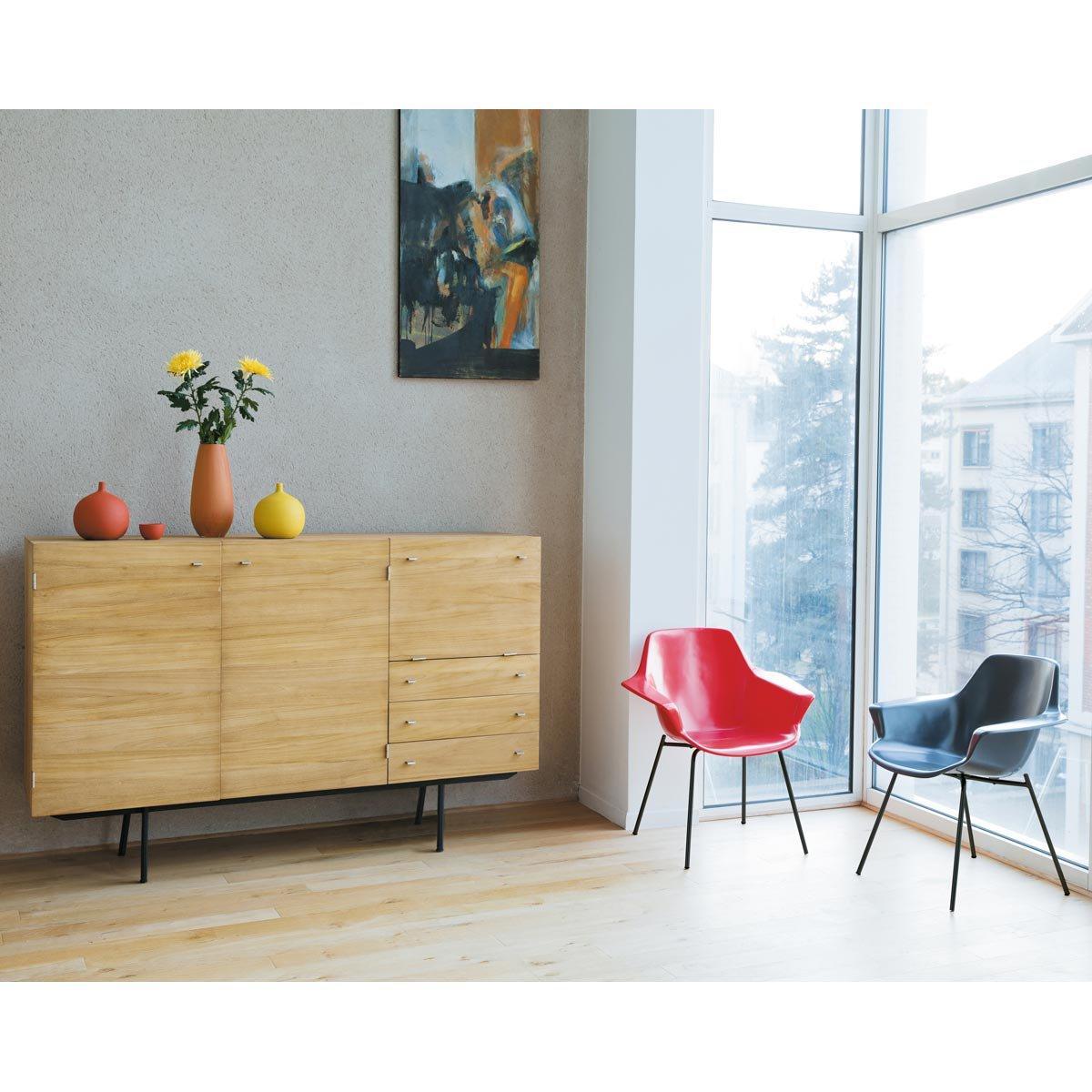 muebles de los 50 y 60 en maisons du monde pierre guariche. Black Bedroom Furniture Sets. Home Design Ideas
