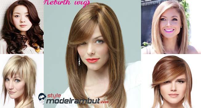 model rambut 2018 wanita wajah bulat