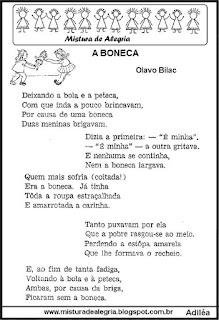 Poesia a boneca