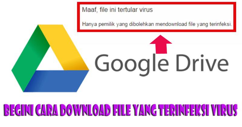 download file di google drive yang
