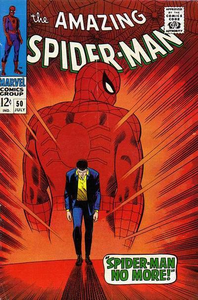 Amazing Spider-Man #50, Spider-Man quits, John Romita Cover