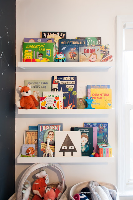 Book Display and Storage in Nursery